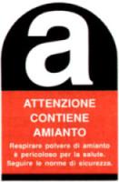 CARTIGLIO AMIANTO