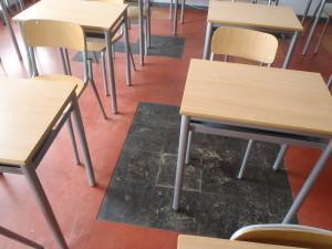 Valutazione pavimenti in vinil-amianto